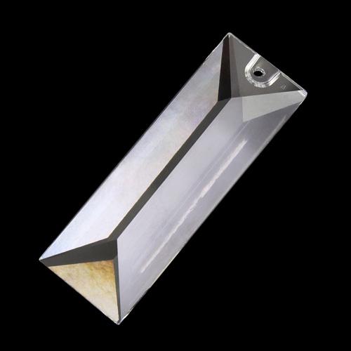 Pendente losanga 63 mm foro singolo cristallo - Swarovski 8321-