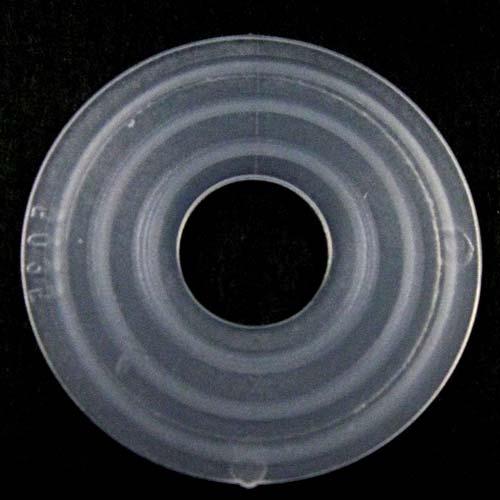 Guarnizione rondella gommino Ø24 mm foro interno 13 mm PVC colore neutro