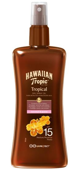 HAWAIIAN TROPIC PROTEC DRY OLIO SPRAY