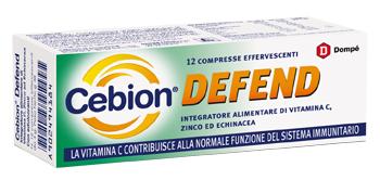 CEBION DEFEND - INTEGRATORE DI ZINCO, ECHINACEA VITAMINA C PER LE DIFESE IMMUNITARIE BRACCO