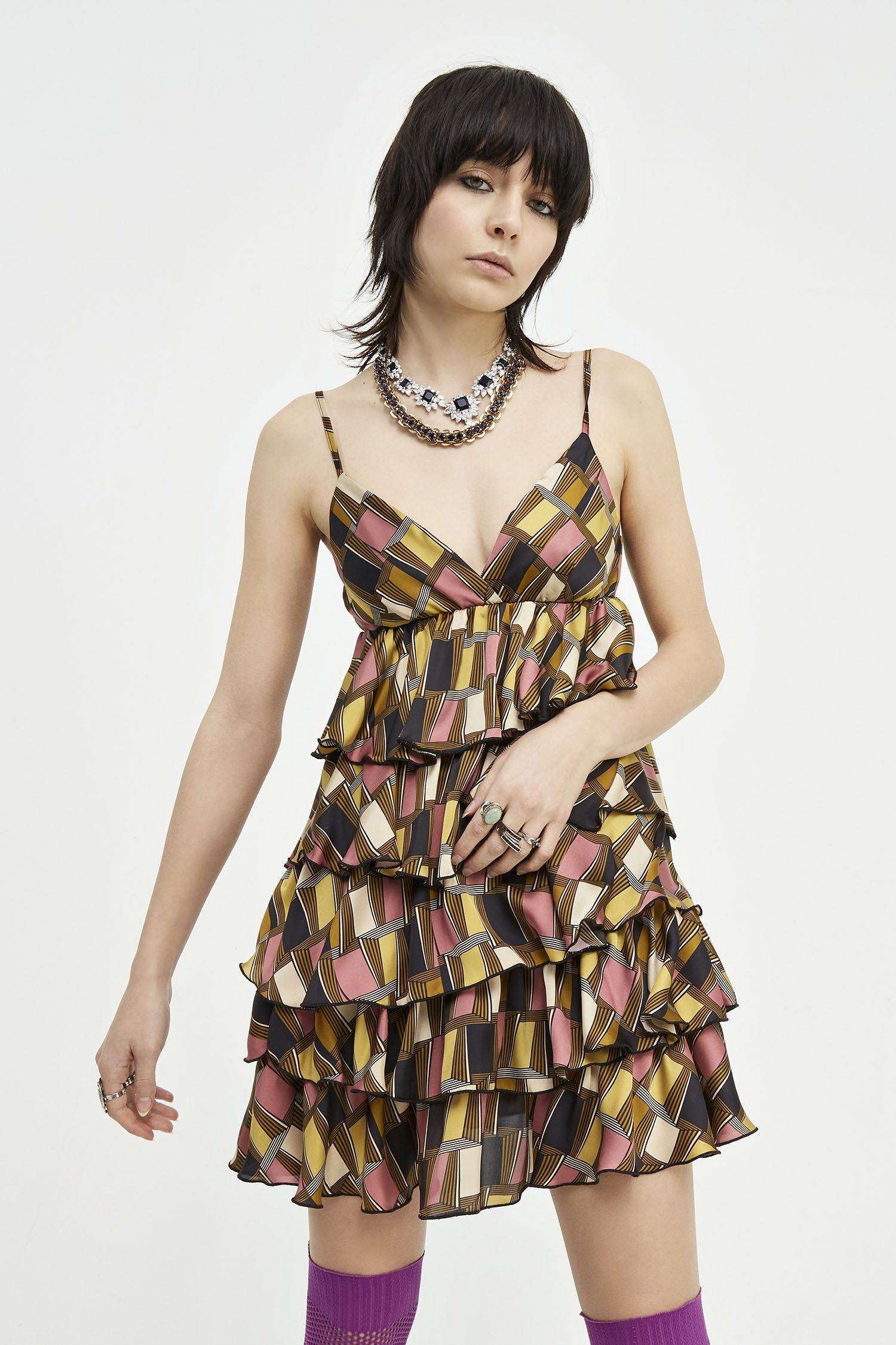 Abito Mini Dress Cleo Aniye By
