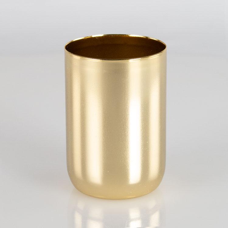 Bicchierino E27 oro Ø40 mm foro 10mm