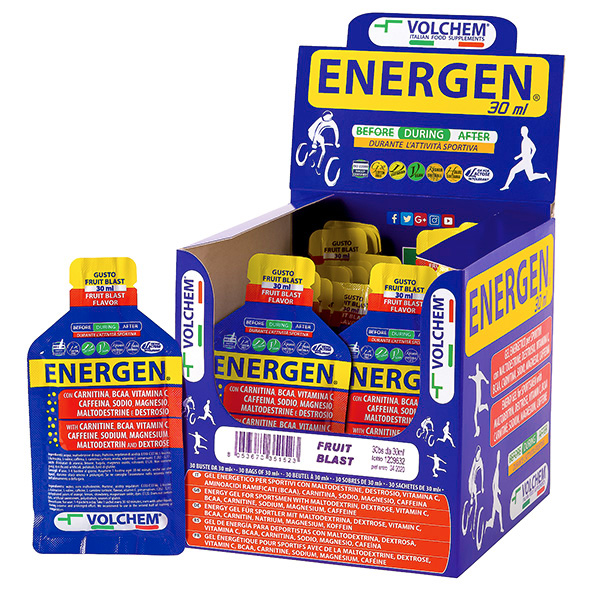 ENERGEN ® 30ml ( gel energetico ) 30 x 30ml