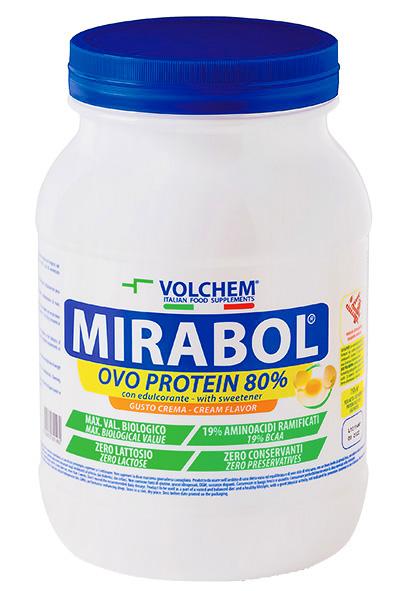 MIRABOL ® OVO PROTEIN 80 - 750g jar ( egg protein )