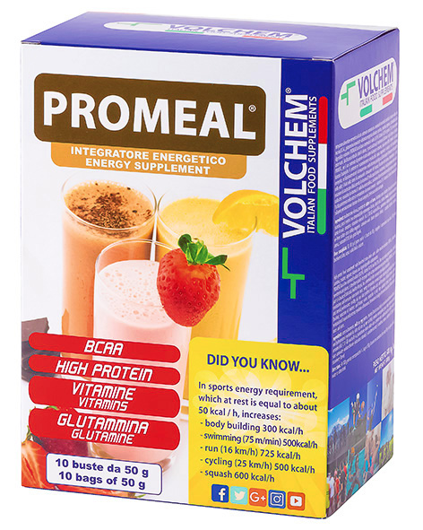 PROMEAL ® ( workout - gainer ) 10 x 50g