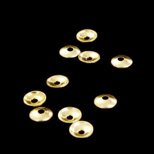 Coppette stringi foro oro Ø4 mm foro centrale 1 mm