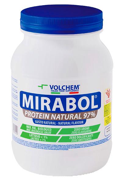 MIRABOL ®  PROTEIN NATURAL 97 - barattolo ( blend proteico ) 750g
