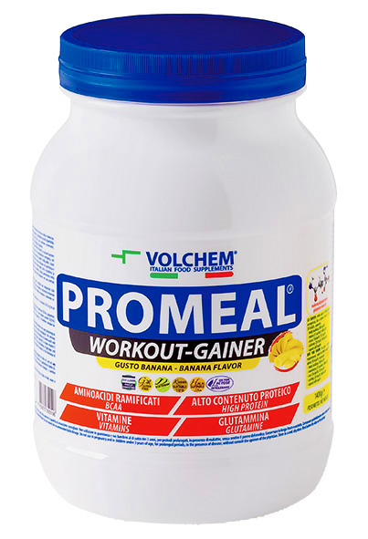 PROMEAL ®  1400 g ( gainer - workout ) powde