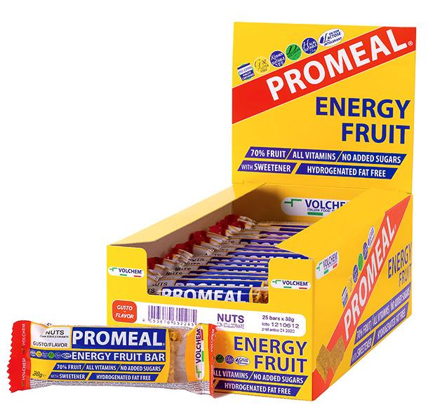 PROMEAL ® ENERGY FRUIT ( barretta energetica alla frutta ) 25 x 38g