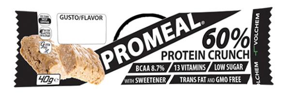 PROMEAL ® PROTEIN CRUNCH 60% ( barretta proteica ) 40g