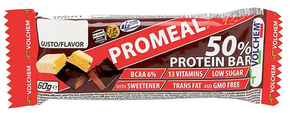 PROMEAL ®  PROTEIN 50% ( barretta proteica ) 60g