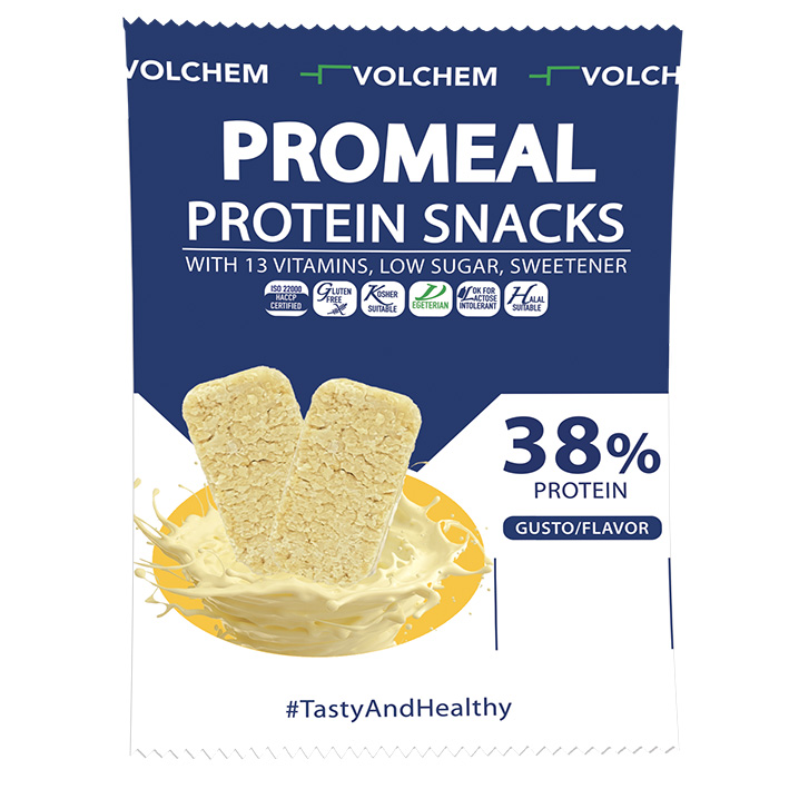 PROMEAL ® PROTEIN SNACKS 38%  WHITE (Snack proteico) 37,5g