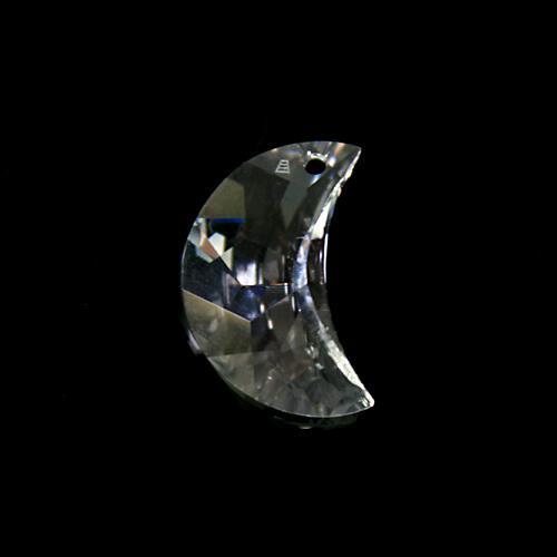 Pendaglio Swarovski luna Cristallo Trasparente 20 mm - 6722 -