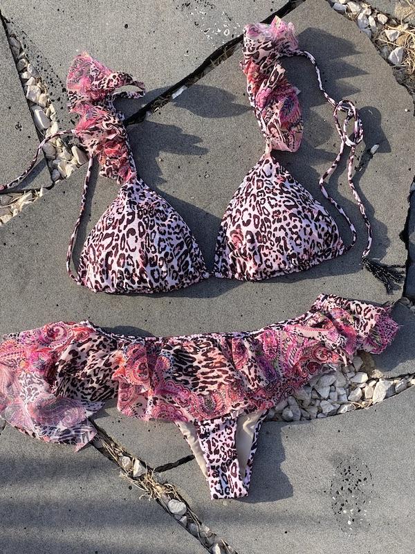 Bikini Triangolo e slip brasiliano gonnellino Mantra Effek
