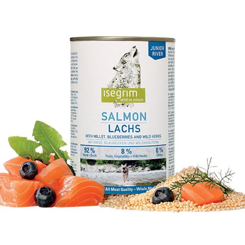 Isegrim Wild Junior Salmone 400gr