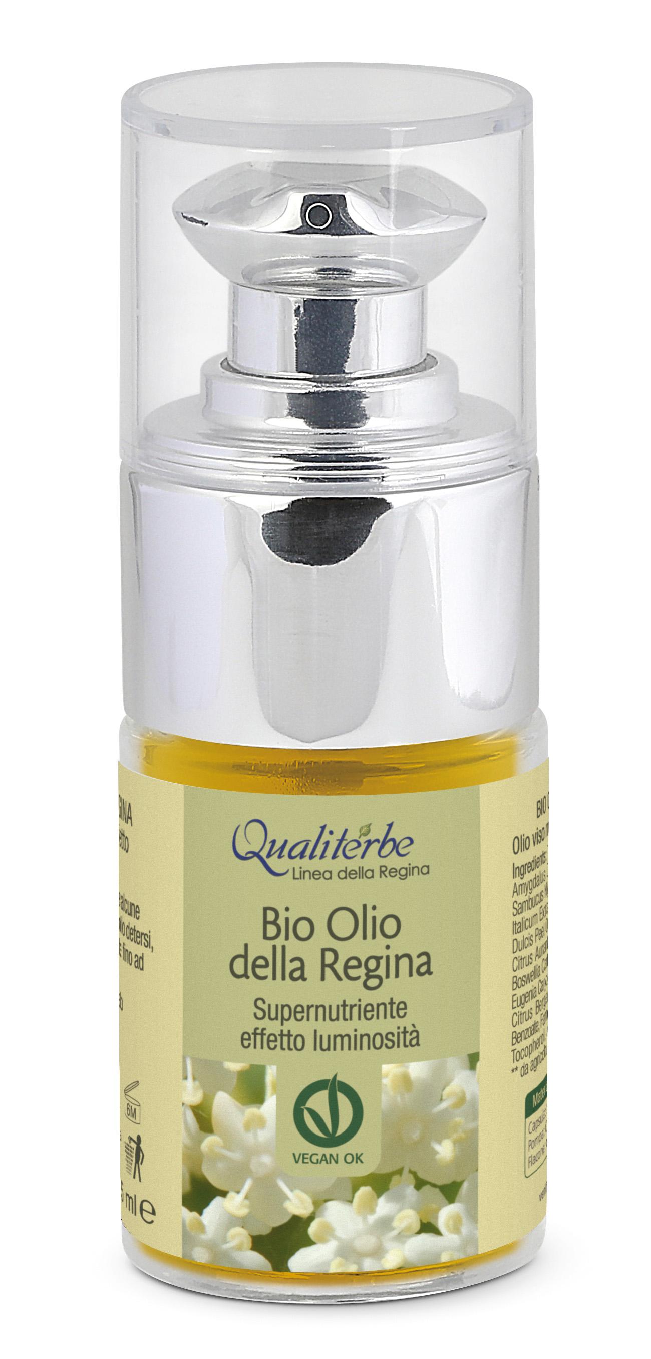 Olio della Regina - Prodotto per il viso.