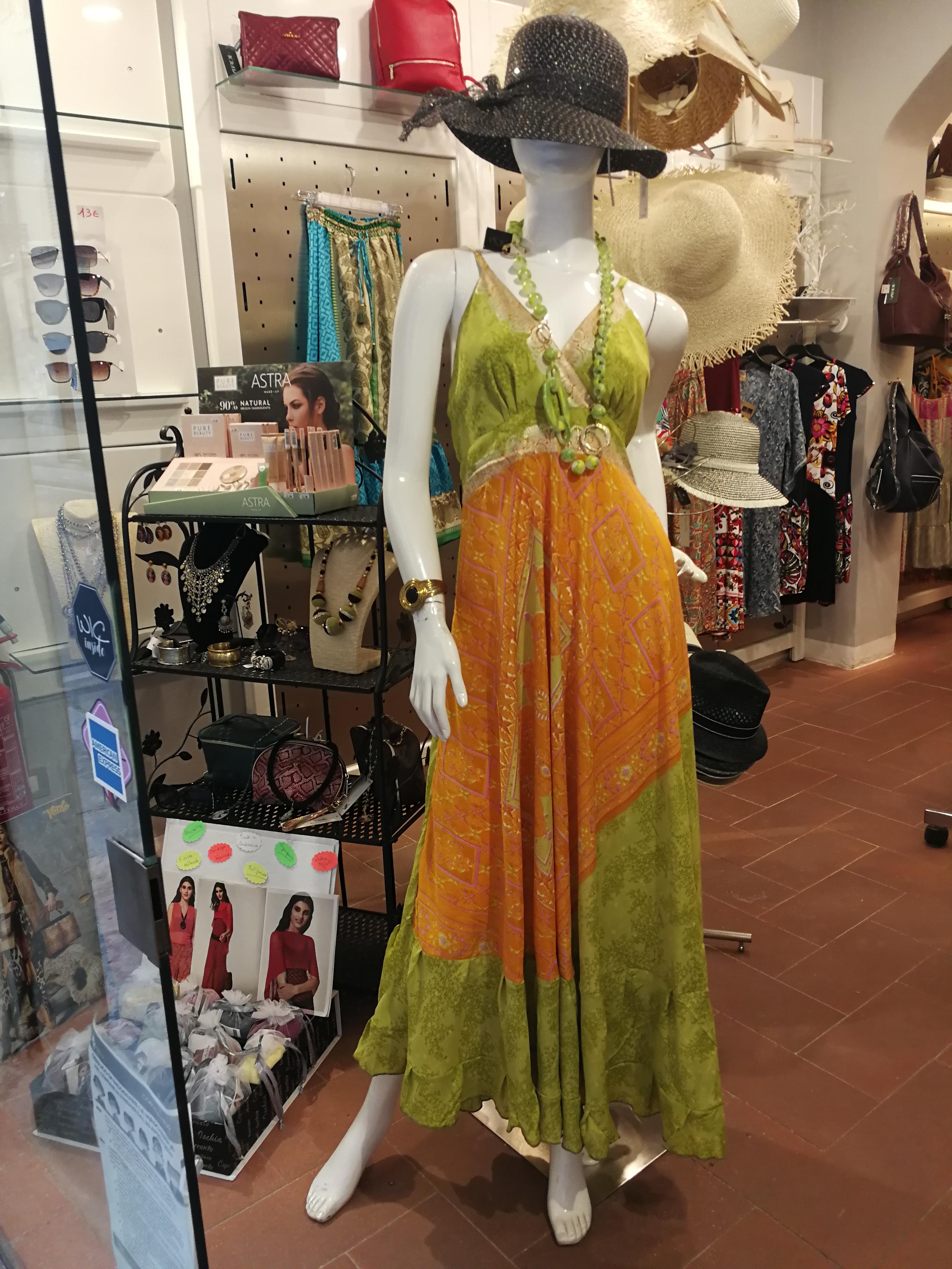 Vestito donna stile gipsy  | Tendenza moda estate 2021