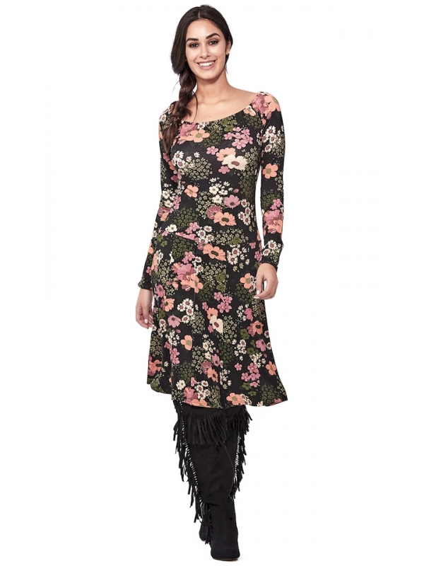 Robes d'hiver midi | Vêtements automne-hiver pour femmes