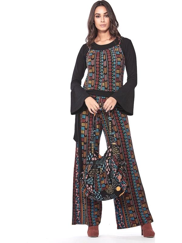 Baba Design borsa tessuto donna