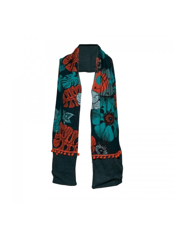 Women's winter scarf