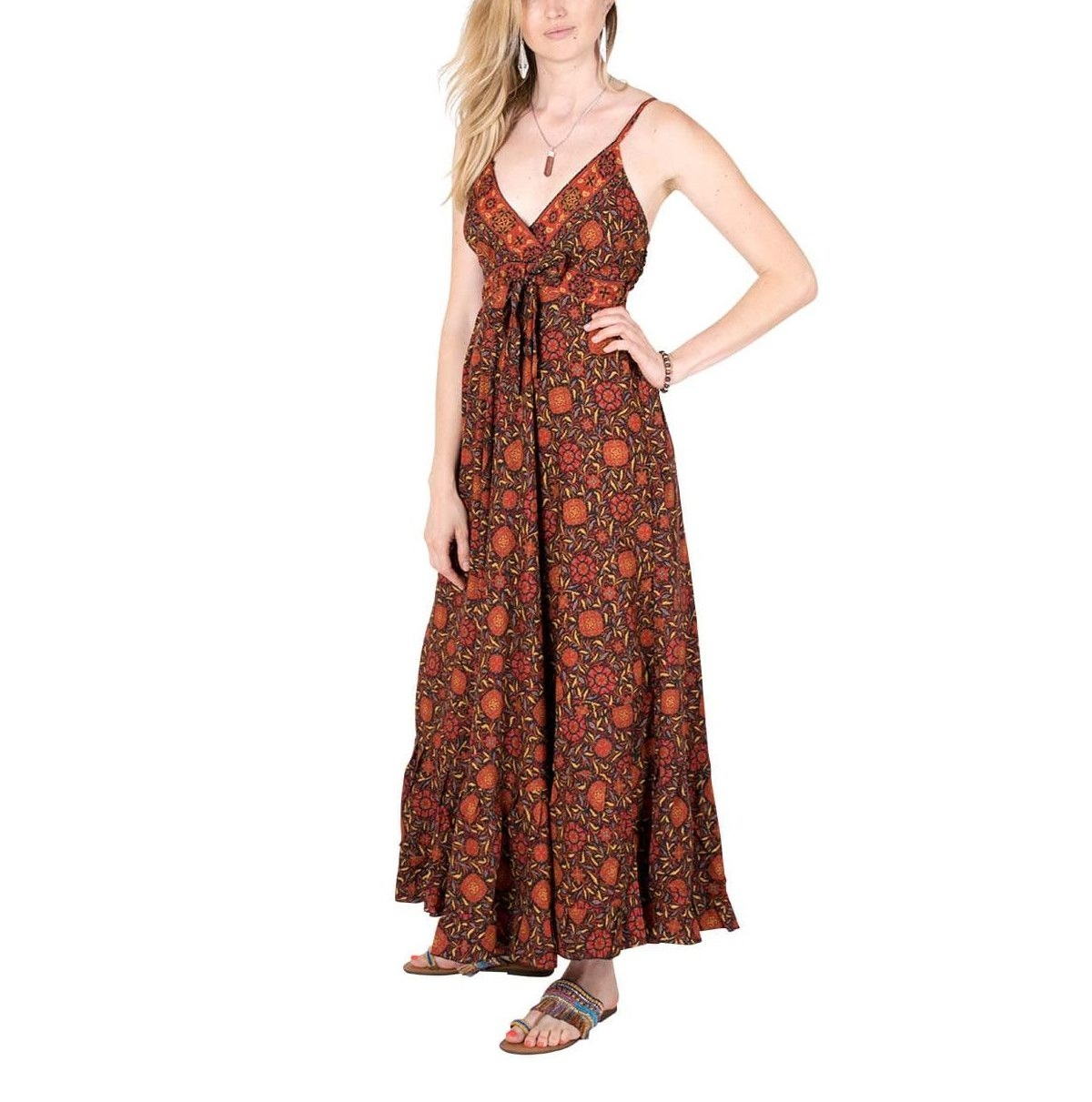 Fantasy silk Dress