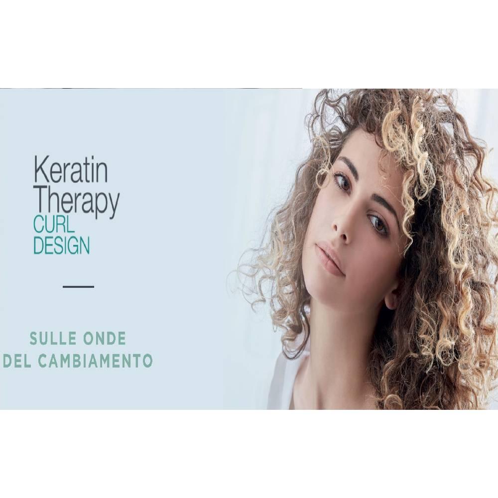 Servizio di Permanente Vegana Keratin Therapy Curl Design