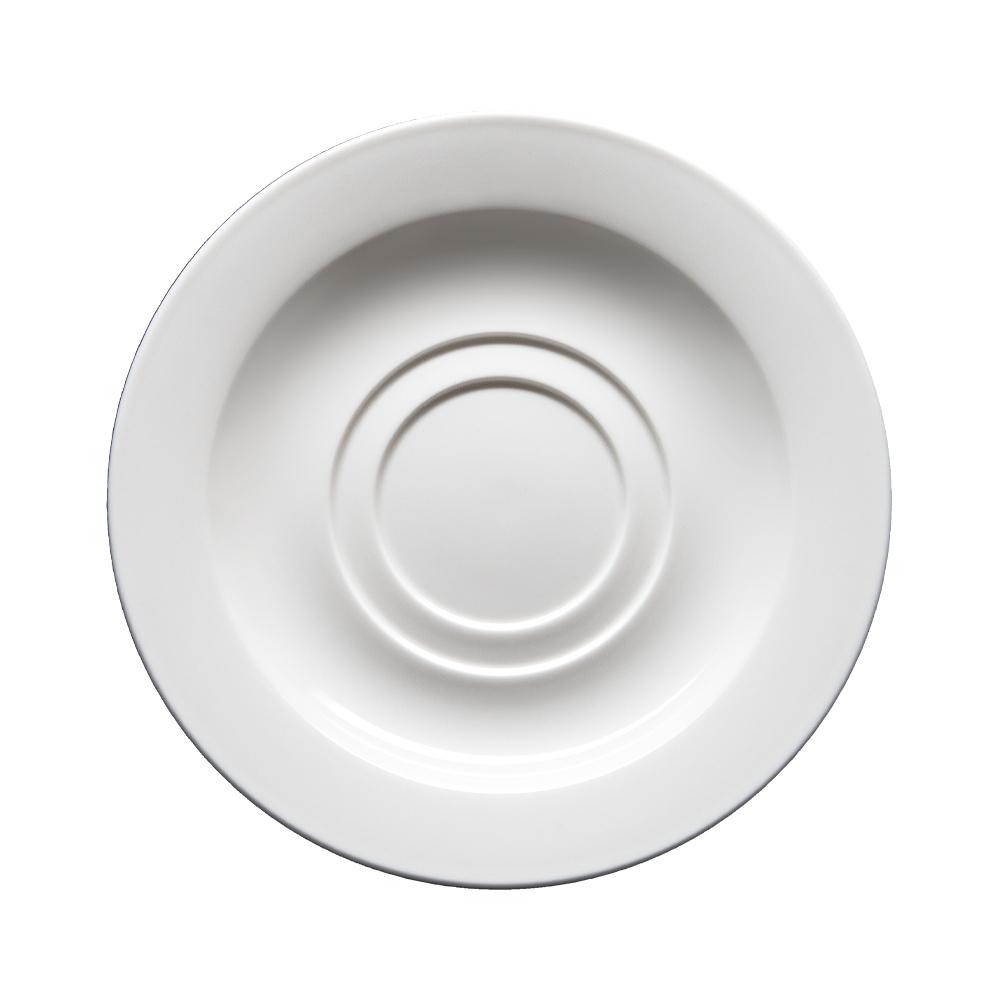 Piattino per tazza colazione con doppia sede cm 16   Milano