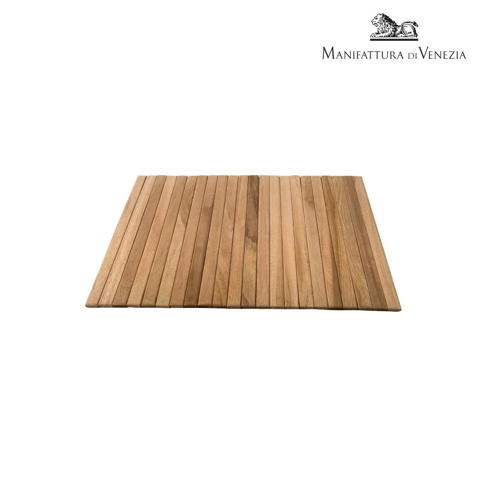 Tovaglietta in legno di teak cm 30 | Buffet
