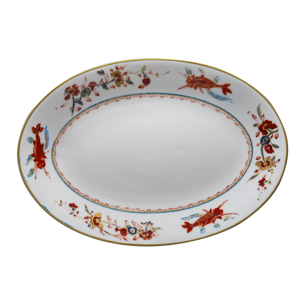 Piatto ovale cm 37 | Chinesi Fiori Finiti