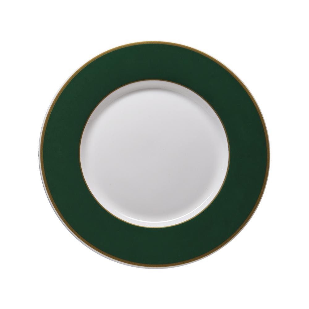 Piattino pane e burro cm 17,5 | Striche Verdi e Oro