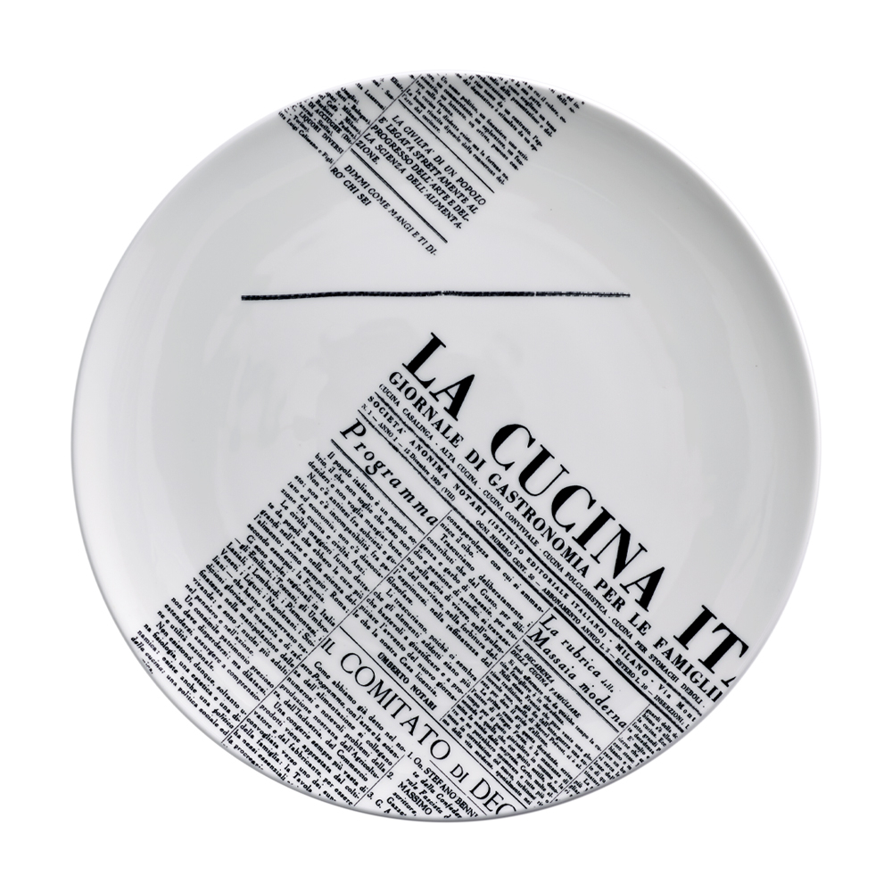 Piatto piano cm 28 | Geometric | La Cucina Italiana