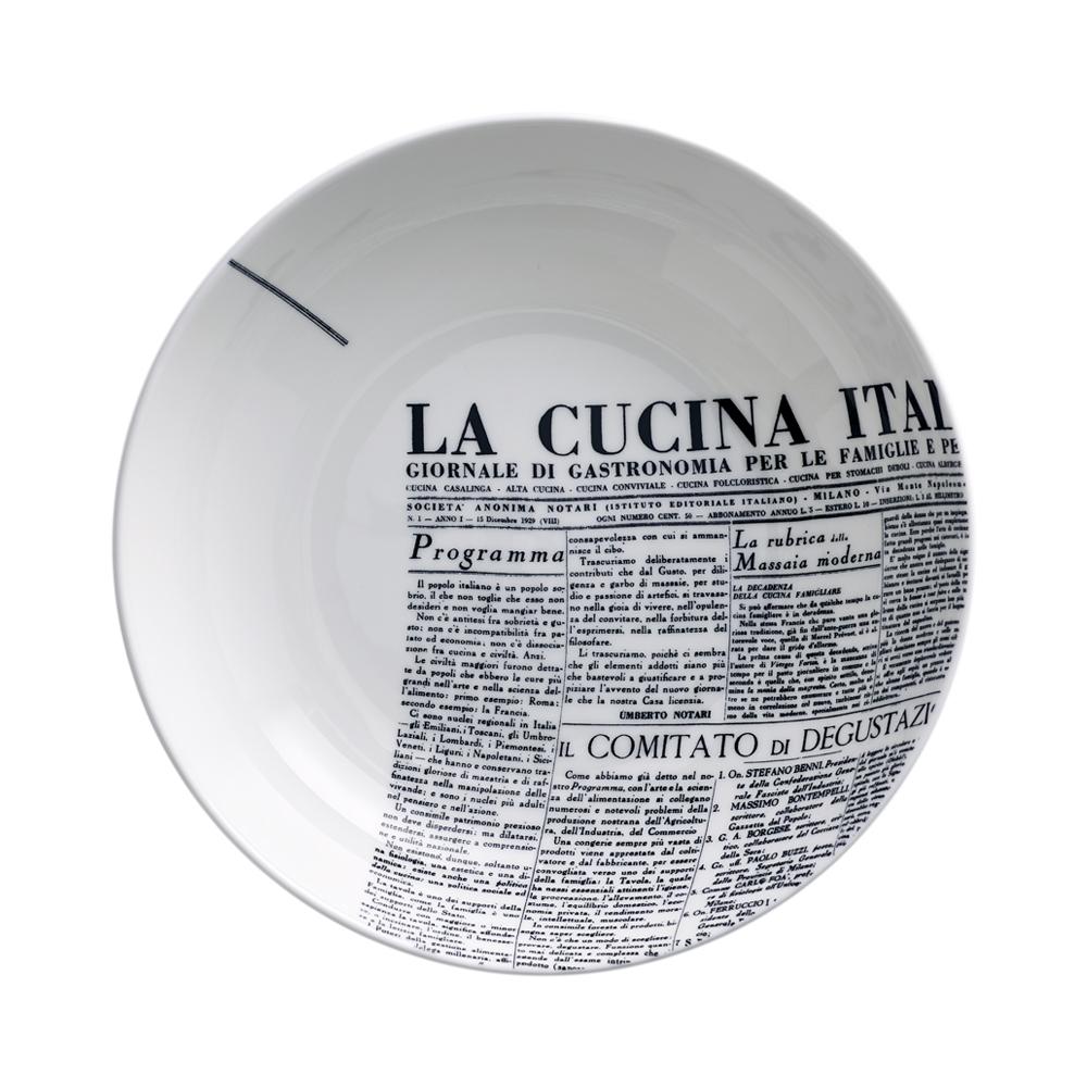 Piatto fondo cm 20 | Geometric | La Cucina Italiana