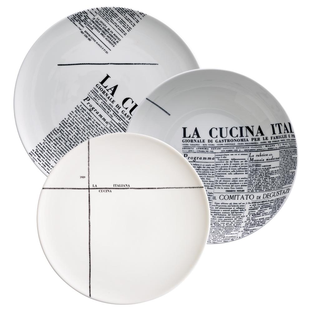 Set 3 pezzi | Geometric | La Cucina Italiana