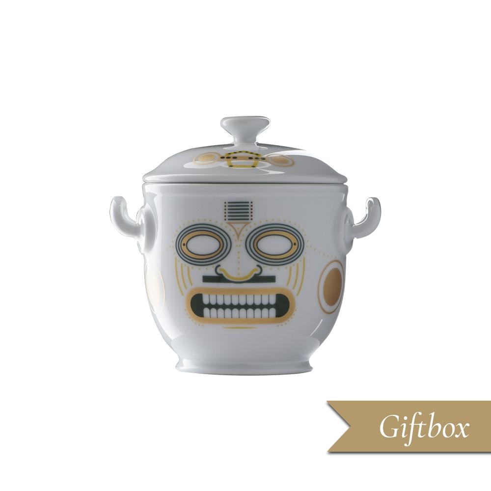 Piccolo vaso in Giftbox | Quiriguë | Ethnics | Edizione Limitata e Numerata