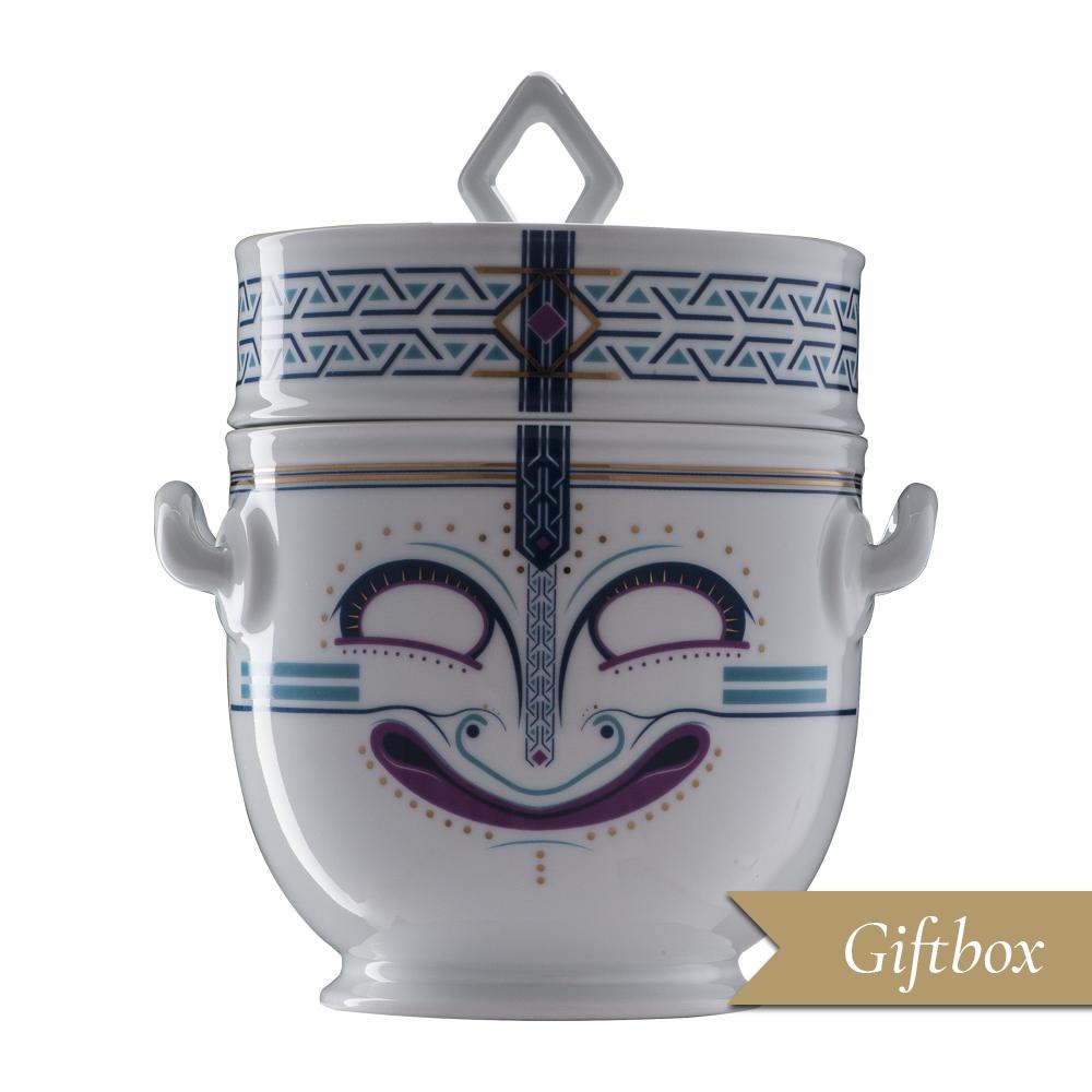 Rinfrescatoio 2 pezzi in Giftbox | Quart-Hadast | Ethnics | Edizione Limitata e Numerata