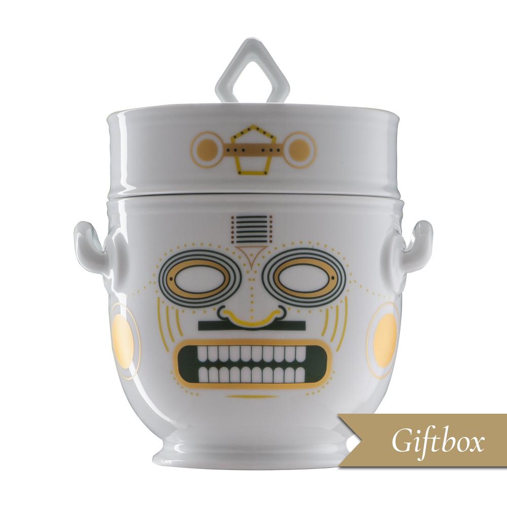 Rinfrescatoio 2 pezzi in Giftbox | Quiriguë | Ethnics | Edizione Limitata e Numerata