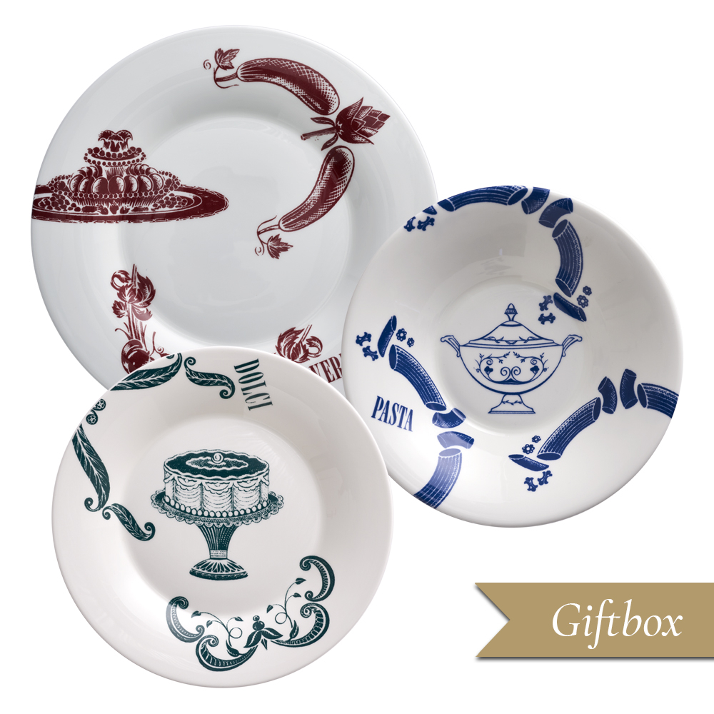 Set 3 pezzi A in Giftbox GCV | Vintage | La Cucina Italiana