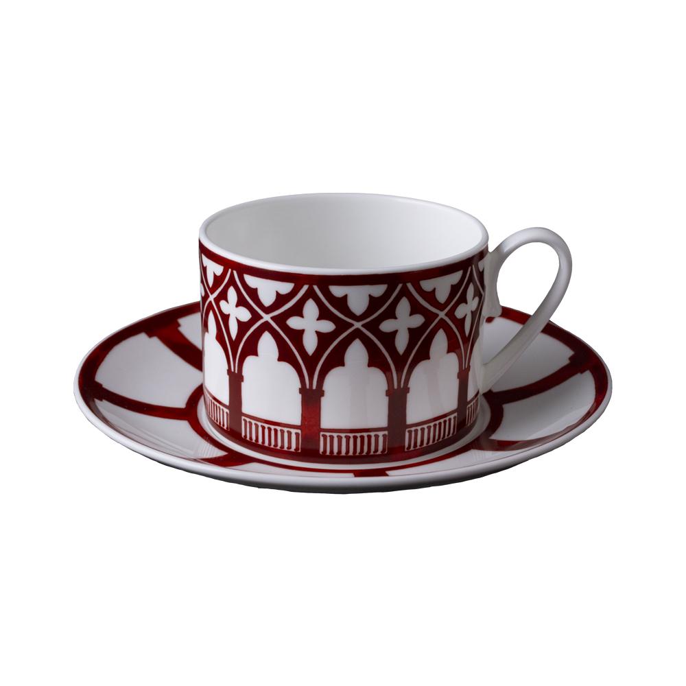 Tazza tè con piattino | Le loze dei bei palassi | Venezia 1600