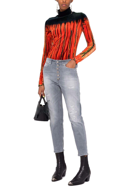Jeans Crop Delavé
