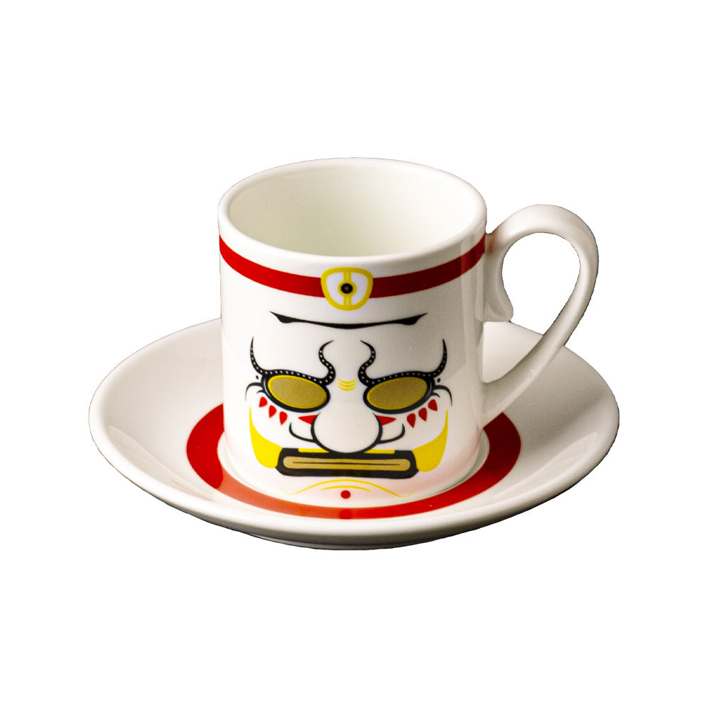 Tazza caffè cc 130 con piattino cm 12 | Asuka-Kio | Ethnics
