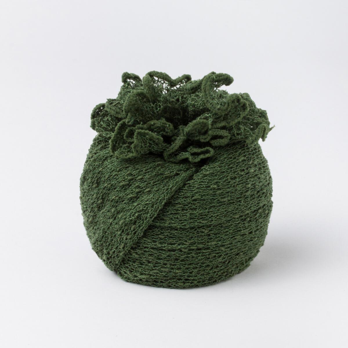 Poncho Vert Forêt | Accessoires mode pour femmes