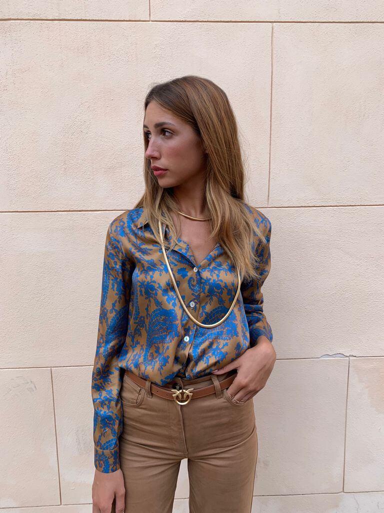 Camicia sagomata Ilari Hanami D'or