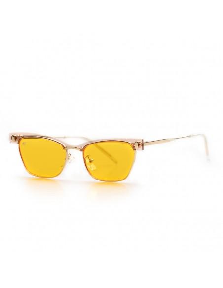 Occhiali da sole particolari con lenti gialle | Vendita online