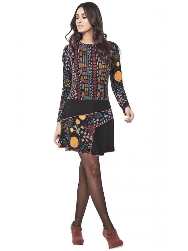 Robe de style ethnique | Vêtements d'hiver femmes en ligne