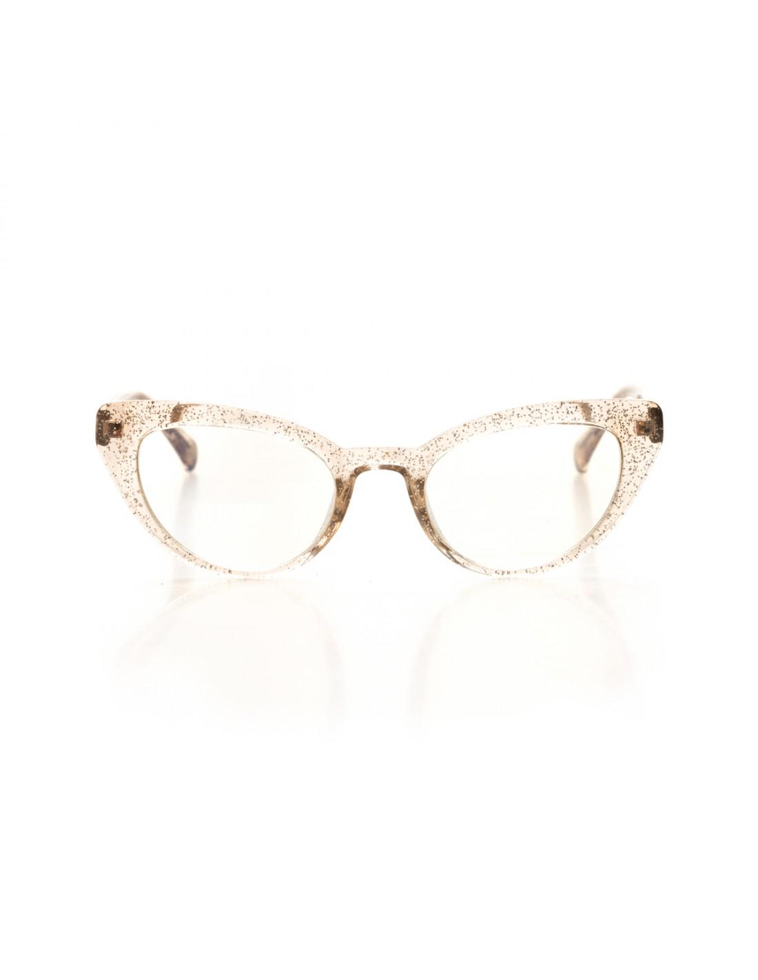 Occhiali da sole da donna trasparenti | Stile vintage online