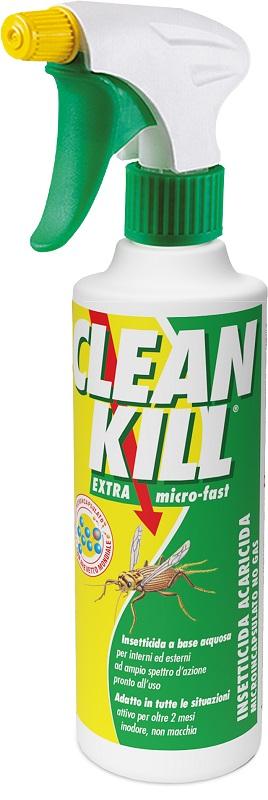 CLEAN KILL INSETTICIDA: LETALE PER GLI INSETTI A SANGUE FREDDO