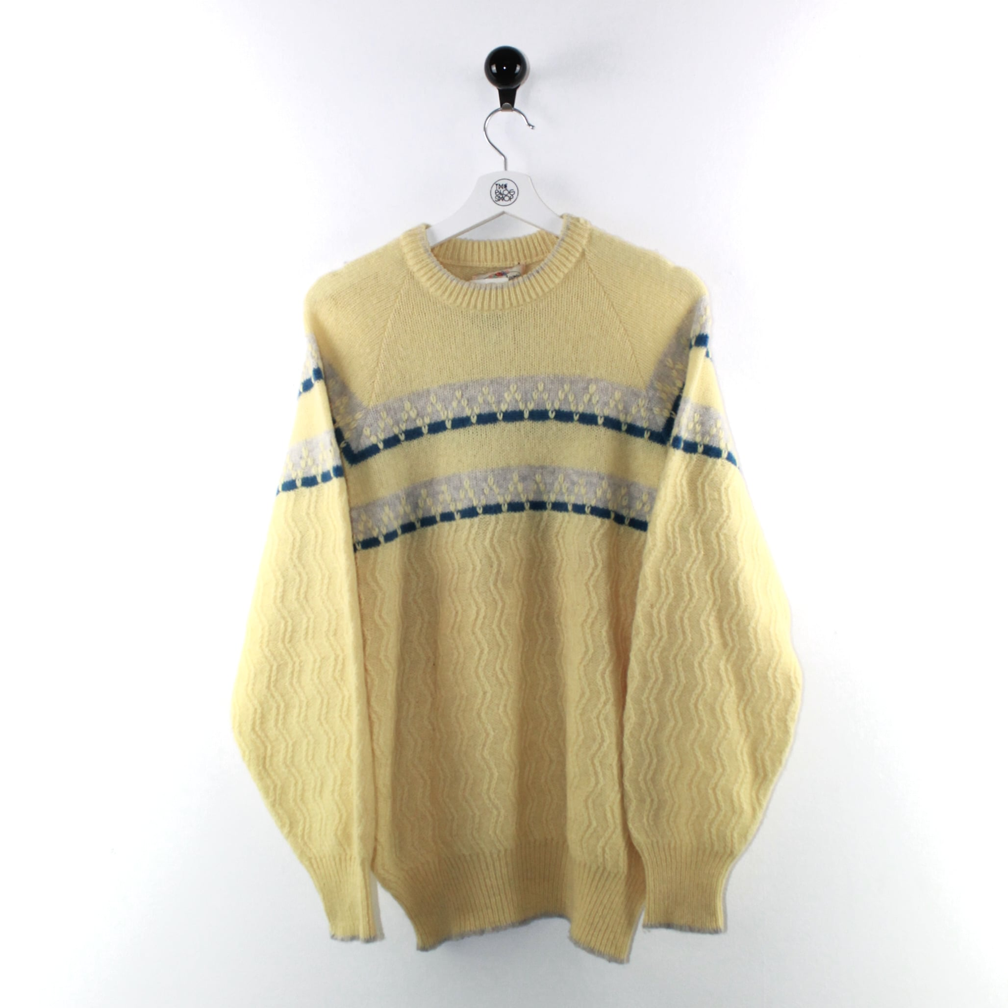 Maglia fantasia 100% lana vergine