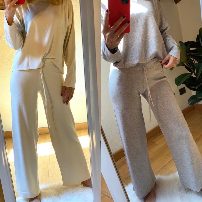 Pantaloni in maglia Vicolo