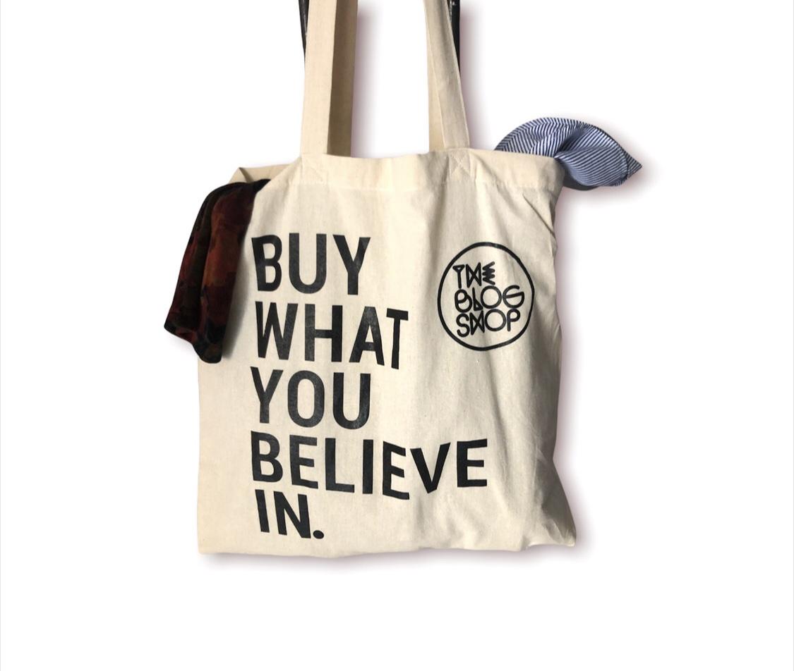Shopper - Buy what you believe in