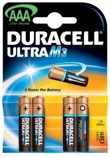Duracell Ultra M3, AAA LR03 Batteria monouso Mini Stilo AAA Alcalino